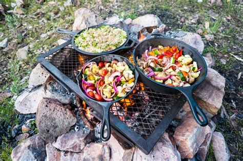 camping food foods meals cooking checklist bush campfire take tucker fancy guide ultimate fire recipes storage while grill packing cookware