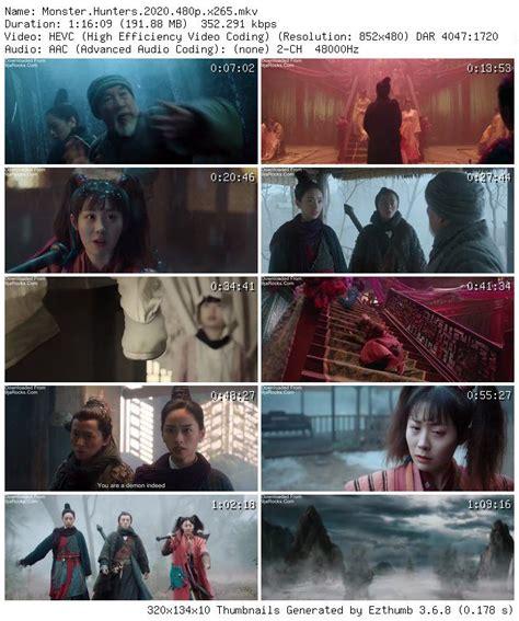 Monster Hunters (2020) - Chinese Mp4 3gp Download - 9jarocks