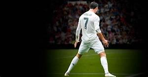 Soccer Ball Card Cristiano Ronaldo Hat Tricks Record In La Liga Real Madrid Cf