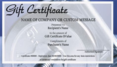 Personal Trainer Gift Certificate Template by Personal Gift Certificate Templates Easy To Use