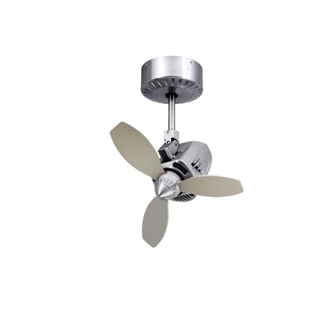 Small Oscillating Outdoor Ceiling Fan by Troposair Mustang Oscillating Ceiling Fan Brushed