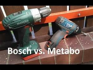 Bosch Gsr 10 8 2 Li Test : bosch gsr 10 8 2 li vs metabo bs 14 4li cordless drill driver test review opinion youtube ~ Watch28wear.com Haus und Dekorationen