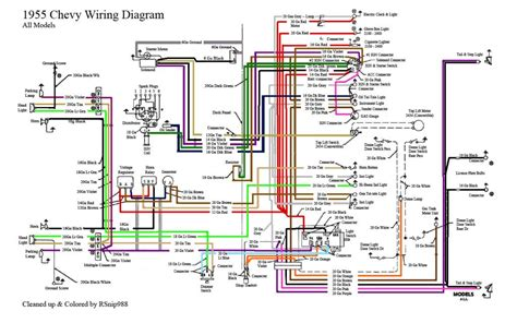 Chevy Color Wiring Diagram Chevrolet Pinterest