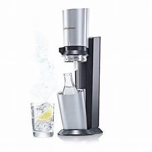 Sodastream Glaskaraffe 1 Liter : cocktail gl ser sodastream wassersprudler crystal inkl alu zylinder ~ Watch28wear.com Haus und Dekorationen