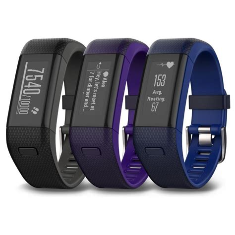 Garmin Vivosmart HR+ GPS Fitness Activity Tracker with