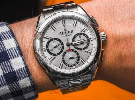 Alpina Alpiner 4 Flyback Chronograph With New Al-760 In
