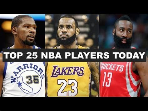 Best Right Now by Top 25 Nba Players Right Now