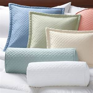 quilted twill pillow covers pillowcases and shams With cuddledown pillows