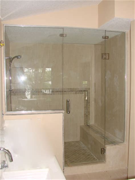 Steam Shower Doors by Unique Shower Door Stalls And Steam Enclosure By Emergency