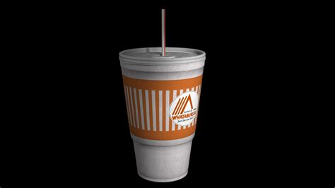 cuisine cup 3ds max fast food cup