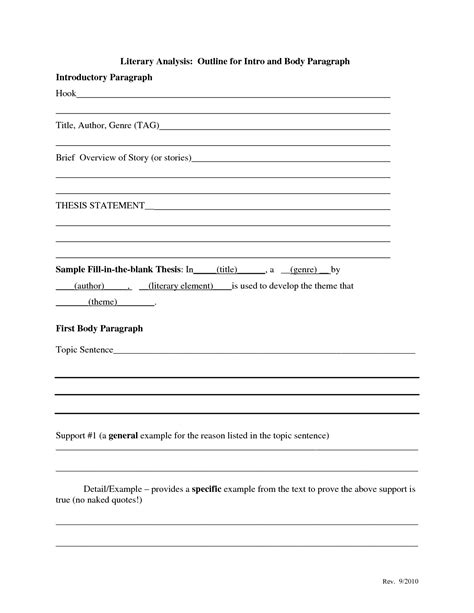 Thematic Resume Template thematic statement exle template best template