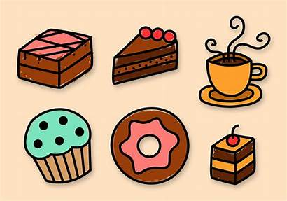 Bakery Vector Elements Cake Vectors Illustration Bake