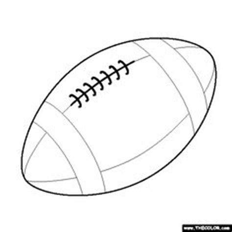 Free Printable Football Stencils  Clipart Best