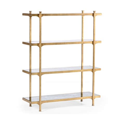 Etagere Shelves by Glass Etagere Display Bookcase Swanky Interiors
