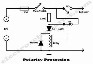 low voltage automotive circuit protection With simple circuit provides latching fault protection