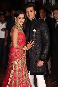 Ritesh & Genelia Wedding Reception Images