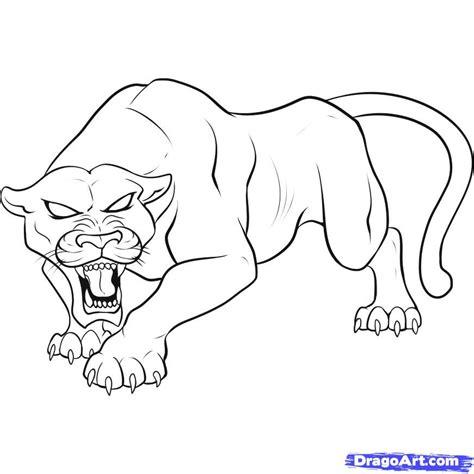 draw  black panther step  step rainforest
