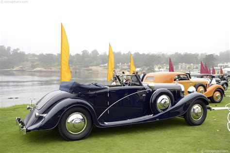 1935 Hispano Suiza J12 Image. Chassis number 14004