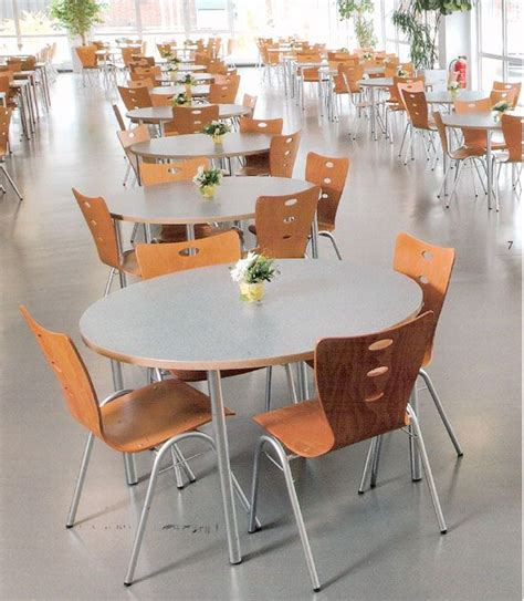 canteen furniture cafeteria chairs lunchroom tables