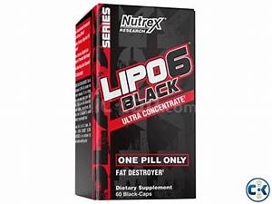 Lipo 6 Black Ultra Concentrate Fat Destroyer