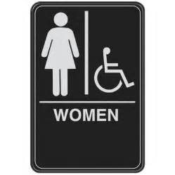 womens bathroom sign doorje