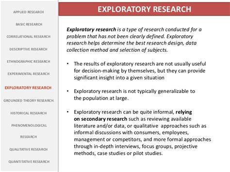 types  research
