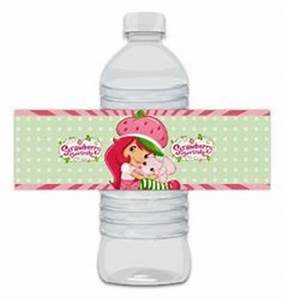 1000 images about party ideas strawberry shortcake on for Buy water bottle labels