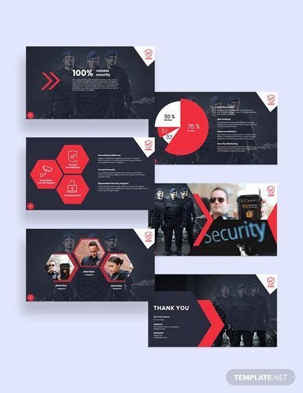 Security Guard Services Presentation Template - PDF | Word ...