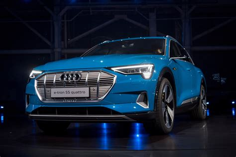 audi launches  tron electric crossover chicago tribune
