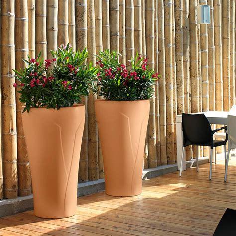 vaso terracotta prezzo vaso esterno in finta terracotta tulipano