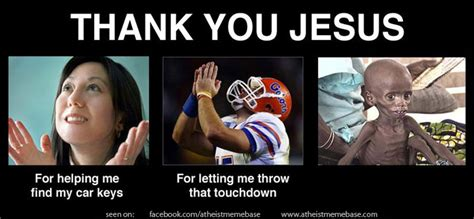 Thank Jesus Meme - car keys food dogs and other things that god doesn t need seth dunn