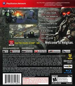 Killzone 2 (2009) PlayStation 3 box cover art - MobyGames