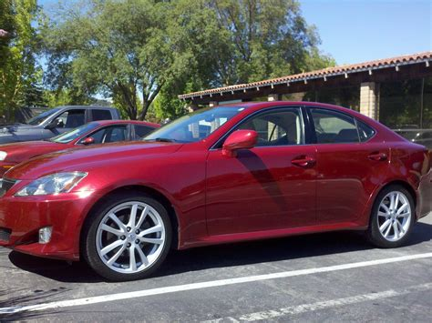 2006 Lexus Is 250 Red 200 Interior And Exterior Images