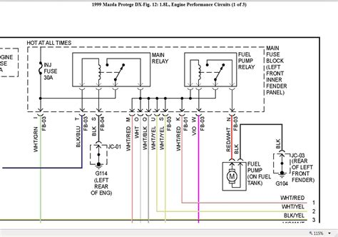 2001 Mazda 626 Fuel Wiring Diagram by Fuel Relay Location Where Is The Fuel Relay