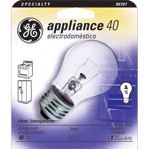 ge  watt  clear appliance light bulb  lamps