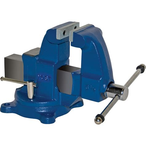 Yost Heavyduty Industrial Machinist Bench Vise — Swivel