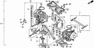Carburetor Assy  For 1998 Honda Gl1500