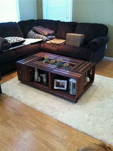 best 25 crate table ideas on pinterest diy crate coffee With coffee table made from crates