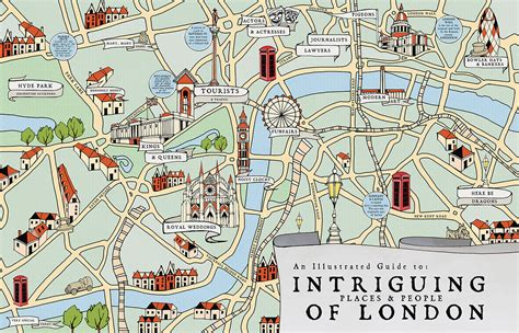london map tutorial illustrated maps