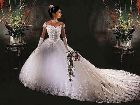 China White Wedding Dress All Size(rs-165)