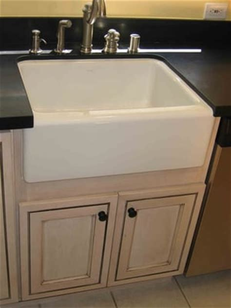 kitchen remodel with apron sink pre fab granite