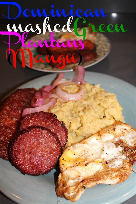 dominican mangu mashed green plantains stress  mommies