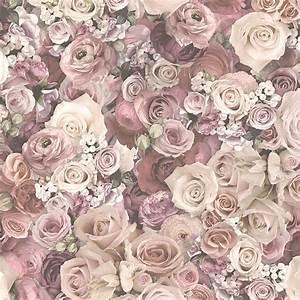 Tapete Blumen Modern : tapete urban flowers rosen blumen blassrosa dasherzallerl ~ Eleganceandgraceweddings.com Haus und Dekorationen