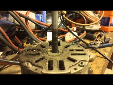 Hvac Service Blower Motor Bracket Repair Youtube
