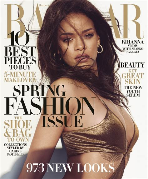 Rihanna's Jaw-dropping New Harper's Bazaar Cover