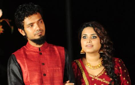 sreenath bhasi  married  reethu zachariah