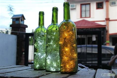 how to put lights in a wine bottle 40 cool diy ideas with string lights