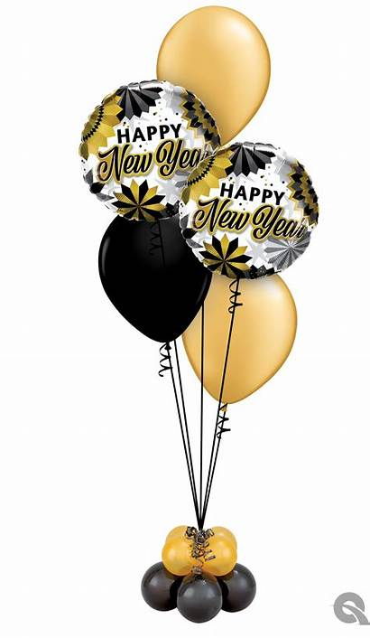 Bouquet Classic Eve Balloons Gold Party Quote