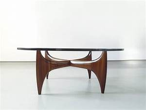 high quality brazilian sculptural coffee table in solid With high quality wood coffee table