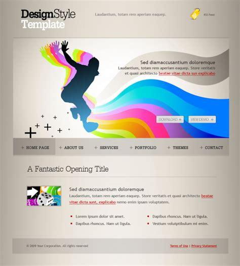 Creative Templates by My Ways Web Template 6104 Creative Design Website